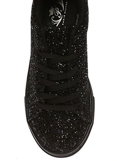 Paris Hilton Paris Hilton Simli   Koşu Ayakkabısı Siyah